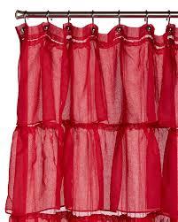 Gypsy Ruffled Shower Curtain Amazon Com Lorraine Home Fashions Gypsy Shower Curtain 70 By 72