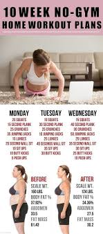 home work out plans 10 week no gym home workout plans 18aims