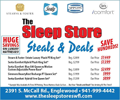 steals deals the sleep store englewood fl