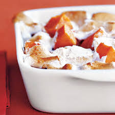 Thanksgiving Yam Recipes Candied Yams With Homemade Marshmallows Recipes
