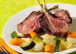 agneau cuisine carré d agneau au thym et petits légumes maggi