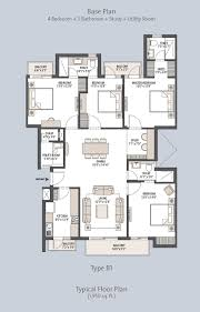 floor plans of emaar mgf palm hills gurgaon apartments flats in