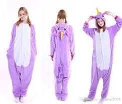 Womens Unicorn Halloween Costume Fluffy Unicorn Onesie Pajamas Cute Newcosplay Costumes