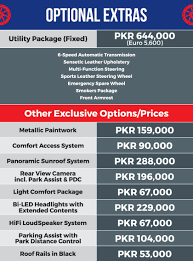 price of lexus car in pakistan bmw x1 booking procedure policies and prices in pakistan