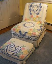 Chenille Armchair 91 Best Chenille Love Images On Pinterest Chenille Bedspread