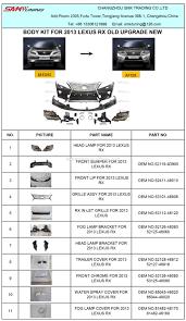 lexus rx270 accessories body kit for 2009 lexus rx270 upgrade 2013 2014 rx350 buy lexus