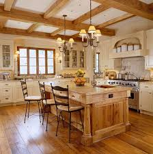 Kitchen With Brown Cabinets Elegant Kitchens With Warm Wood Cabinets Traditional Home