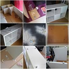 Ikea Desk Hack by Ikea Kallax Linnmon Desk Hack Ikea Hackers Ikea Hackers