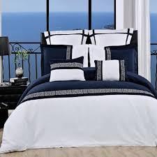 Navy Blue Bedding Set Black White And Blue Bedding Sets Sweetest Slumber White And Blue