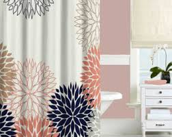 Pink And Navy Curtains Pin By J Siraganian On New House Pinterest Chrysanthemums