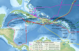 Columbus Route Map by How The Conquest Of The Aztec Empire Really Happened Album On Imgur