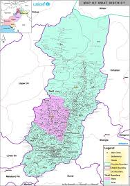 Un Map Map Of Swat District Source Un Habitat Forestry Figure 1 Of 3