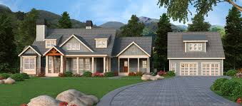 cabin plans with garage craftsman house plan arborgate 30 654 front 0 plans with detached