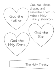 free holy trinity worksheet for grades kindergarten 1 2 and 3