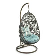 attractive hanging egg chair designs for stylish relaxing spot