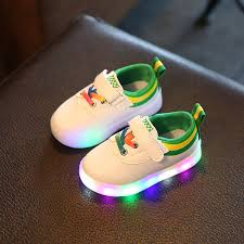 rainbow light up shoes fashion glowing sneakers kids light up shoes baby colorful led