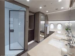 Private Plane Bedroom Inside The Dreamliner That U0027s Been Converted Into A Private Jet