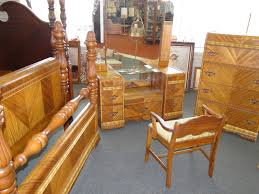 Art Deco Bedroom Furniture by 1900 1950 Beds Bedroom Sets Furniture Antiques Picclick Free