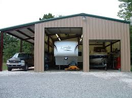 rv net open roads forum what size rv garage storage do you use