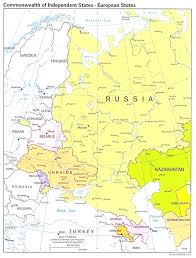 Europe And Russia Map by European Russia Map And Information Page With Russia In Europe Map