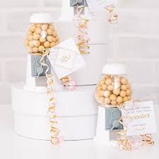 gumball party favors 5 empty mini white gumball machine party favor the knot shop