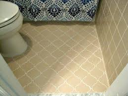Cleaning Old Tile Floors Bathroom Anyone Ever Paint An Entire Tile Floor With Grout Renew Hometalk