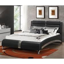 jeremaine upholstered bed black beds bedroom furniture bedroom