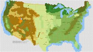 Map Of Nirth America by Has Anybody Done A Soft Hex Map Of North America