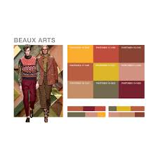 Home Interior Color Palettes Created By Fashion Snoops And Visualized In Pantone Fashion Home