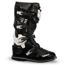 black dirt bike boots fly racing black white mens fly sector dirt bike boots mx atv 2017