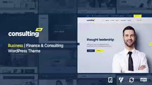 consulting business finance wordpress theme themeforest