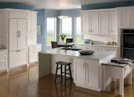 Masterbrand Kitchen Cabinets Homecrest Cabinetry Completes The Dover Maple Doors With White