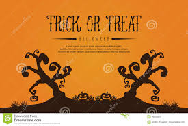 halloween with tree style background stock vector image 95542624