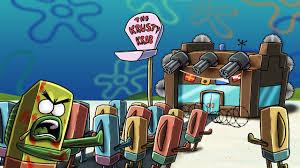 minecraft secure base challenge u2013 krusty krab siege spongebob