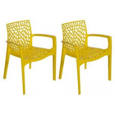 chaises jaunes chaise jaune la redoute