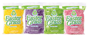 green paper easter grass 2 oz 100 recycled paper easter grass easter