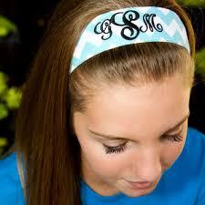 monogram headband shop monogram headband on wanelo