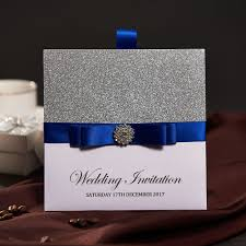 Wedding Invitation Cards China Online Buy Wholesale Blue Wedding Invitation Cards From China Blue