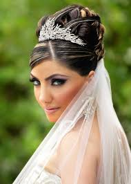 bridal wedding hairstyle for long hair pictures of wedding hairstyles indian brides