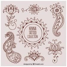 henna tattoo vectors photos and psd files free download