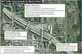 Wsdot Seattle Traffic Map by Construction Alert East Link Extension 5 15 2017 Sound Transit