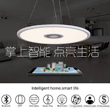 Wireless Ceiling Light Fixtures 2017 Wireless Music Play 36w Led Ceiling Light Bluetooth App