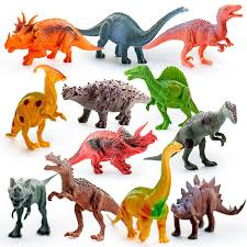 amazon com kids imaginative dinosaurs small u0026 large plastic