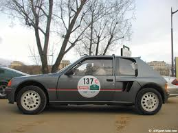 peugeot 205 rally peugeot 205 30 say happy birthday retro rides