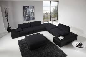 Living Room Black Sofa Standard Size Of White Leather Living Room Sofa With Arch Floor
