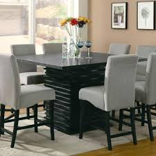 high dining room table and chairs high dining room tables furniture modern counter height dining table