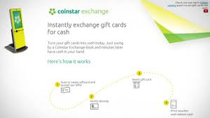 How To Turn Walmart Gift Card Into Cash - coinstar exchange kiosks take your unused gift cards for cash