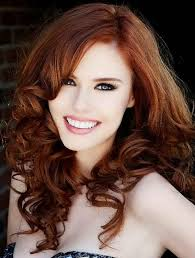 Formal Hairstyles For Medium Straight Hair by Light Auburn Hair Color With Side Bangs For Curly Hair Prom