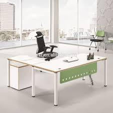 Office Desk Legs by Portable Furniture Design Wood Top Steel Legs Desk Office Table