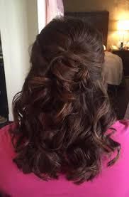 pics of bridal hairstyle half up half down bridal hairstyle soft curls mother of the